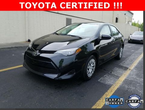 Certified Pre Owned 2018 Toyota Corolla Le